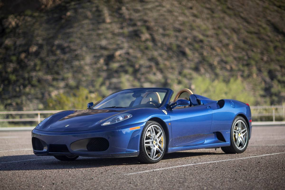 blue ferrari f430 spider images. Black Bedroom Furniture Sets. Home Design Ideas